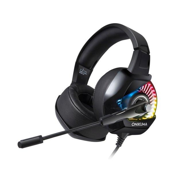 ONIKUMA K6 Over Ear Bass Stereo Surround Gaming Headset