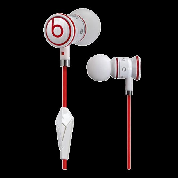 Monster Beats by Dr. Dre iBeats In Ear hodetelefoner, hvit