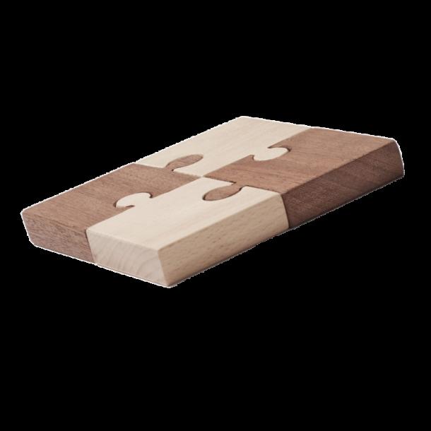 Kids Concept - Puzzle Nature 4 pcs (1000463)