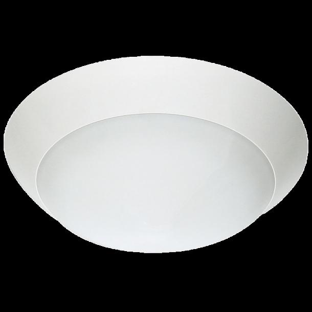 Malmbergs Nice, LED,,10W,HF-Sensor, Hvit, IP44