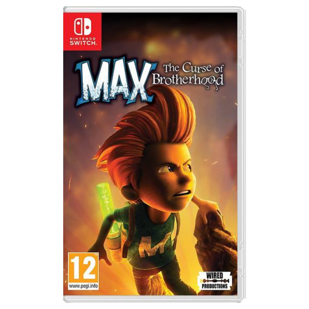 Max - The curse of Brotherhood (Switch)