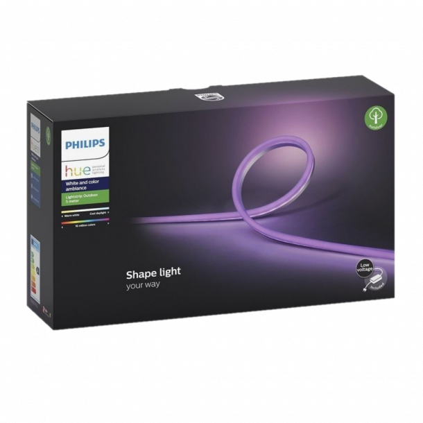 Philips Hue Outdoor Lightstrip 5m White and Color Ambiance