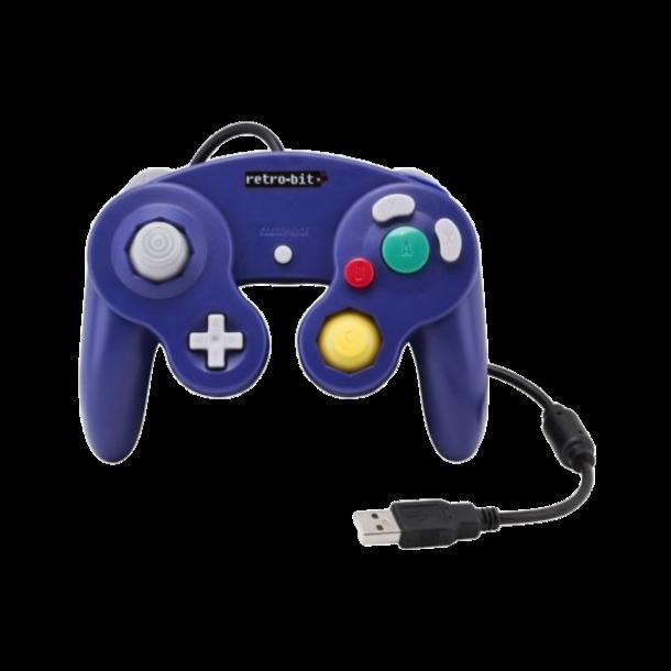 Retro-bit Classic Nintendo Gamecube Controller USB, for PC & Mac