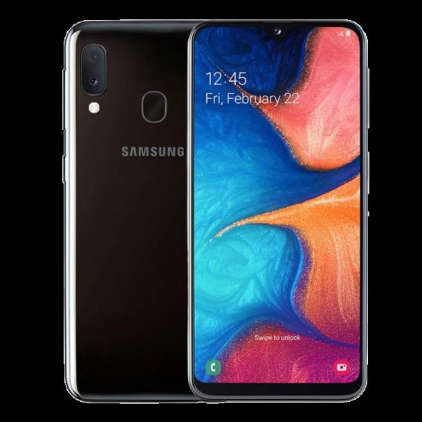 Samsung Galaxy A20e, Svart
