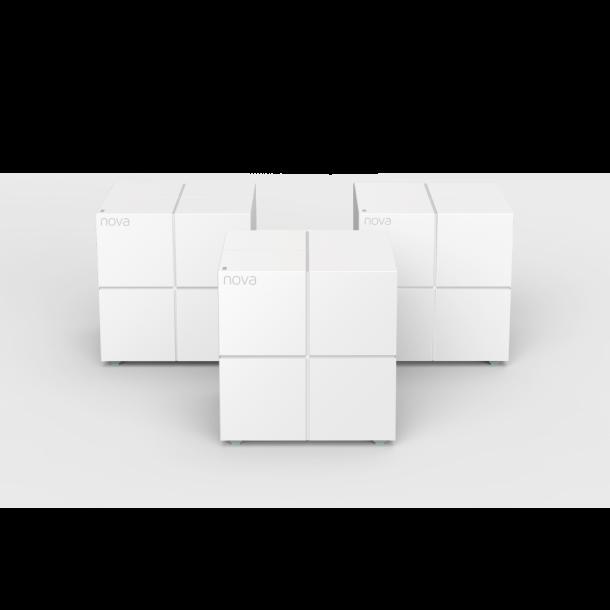 Tenda Nova Mw6 mesh 3-pakning, hvit