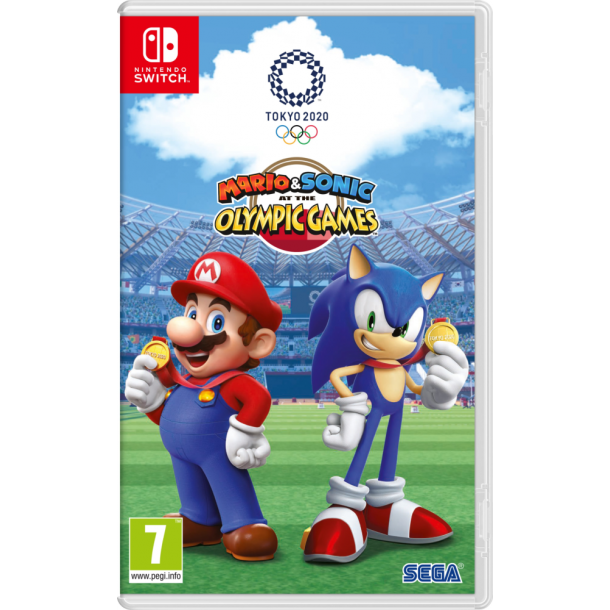 Mario & Sonic ar the Olympic Games Tokyo 2020 (Switch)