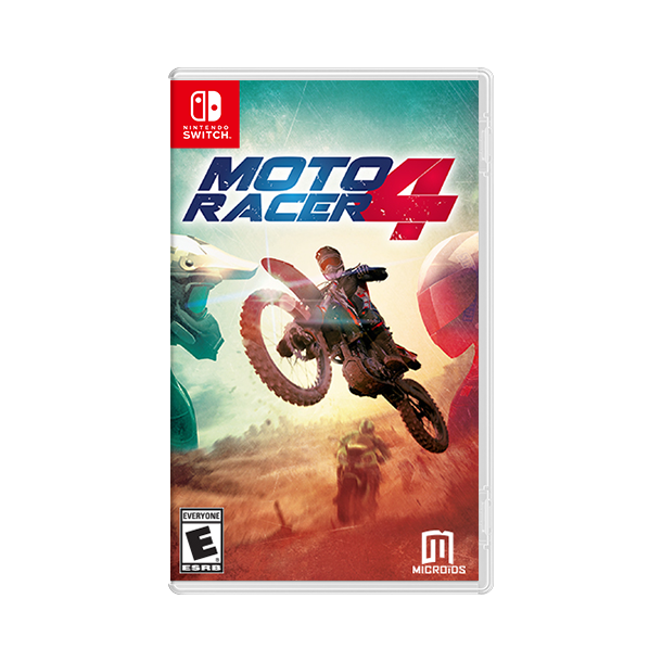 Moto Racer 4 Replay (Kode i Cover) (Switch)