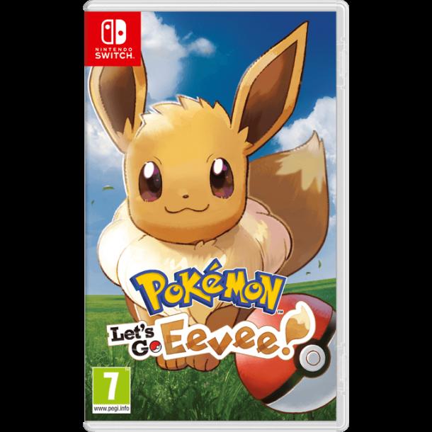 Pokémon: Let`s Go, Eevee! (Switch) - Brukt - som nytt