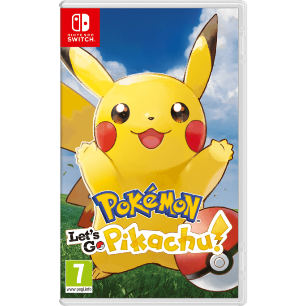 Pokémon: Let`s Go, Pikachu (Switch)